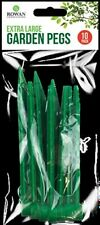 Garden pegs-Robust Pegs for Weed Membrane Extra Large String Netting Landscaping