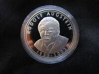 Medaille Deutschland Rudolf Augstein Silber 999 PP Gedenkprägung