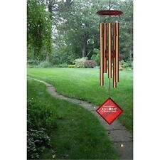 "Woodstock CHIMES OF MERCURY 14"" BRONZE WIND CHIMES, 5 Tubes approx. 6.5"" Long"