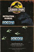 Jurassic Park - NES Nintendo - Instruction Manual Only