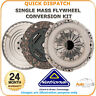 NATIONAL SOLID MASS FLYWHEEL AND CLUTCH  FOR PEUGEOT 607 CK9841F