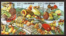 Kolumbien 1981 Block neu Aero auf der Obst- 52m3