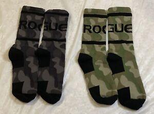 Rouge Camouflage Crew Socks