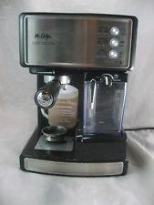 Mr. Coffee Cafe Barista Espresso Maker Black/Silver