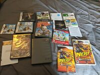 Nintendo ORPHAN LOT Gamecube Wii DS BOX AND MANUAL LOT NO GAMES