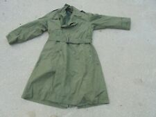 Vintage United States US Army Winter Trench Coat Korean Era 5th Army