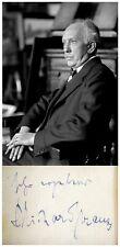 Composer RICHARD STRAUSS Hand SIGNED AUTOGRAPH + PHOTO + DECORATIVE MAT Opera