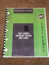 AC Fuel Pumps Catalog 1929-1963 Listings,Part #s,Cross Reference,Drawings,MORE..
