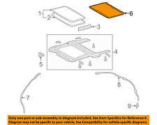 TOYOTA OEM 09-13 Corolla Sunroof Sun Roof-Sunshade Shade Cover 6330602070B2