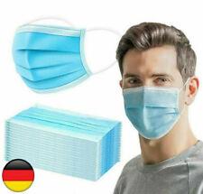10 - 1000 Stück Medizinische OP Maske Typ IIR Einweg Mundschutz 3-lagig NEU