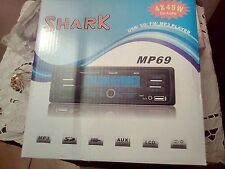 autoradio Shark MP69 -usb-sd-fm-mp3 player 4x45 watt