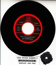 "THE SEARCHERS  Love Potion Number Nine 7"" 45 record NEW + juke box title strip"