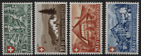 Svizzera - 1945 - Pro Patria - Unificato nn.419/422 - nuovi - MNH