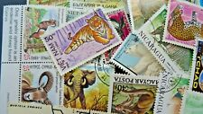 Thematic pack x 100 Animals mainly MNH & CTO FREE DELIVERY