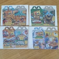McDonalds Happy Meal Box Set 1991 HOOK Disney Collector