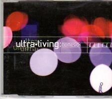 (BA880) Ultra Living, Homesick - 1998 DJ CD
