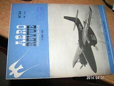 Aero Revue Française n°24 B-24 sur Japon Havilland Mosquito Atterir  Porte Avion
