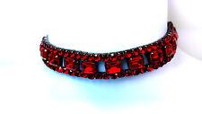 Aspecto gótico Rojo Sangre Gargantilla flexible/adjustable. gran gift.spicy y diabólicos!