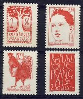 STAMP / TIMBRE FRANCE NEUF SERIE N° 2772 AU 2775 PROCLAMATION DE LA REPUBLIQUE