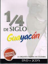 Guayacan Un Cuarto de Siglo  BRAND NEW SEALED DVD/CD