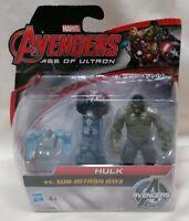 AVENGERS - *Unopened* Age Of Ultron Hulk Vs Sub-Ultron 003 Figure Hasbro Marvel