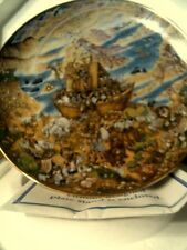 """Vtg1991 """"Two By Two"""" Franklin Mint Ltd Ed Collector Plate-By Bill Bell-Free Ship"""