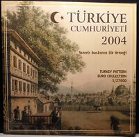 TURKEY - 2004 EURO PROBE / PROTO / ESSAI / TRIAL COIN