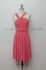 Short Infinity Convertible Multiway Formal Bridesmaid Dress, Handmade One Size