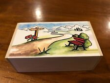 Werner Spielzeug Sankyo Music Box, Made In Germany,Song Edelweiss Sound of Music