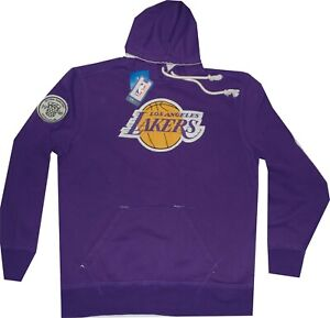 Los Angeles Lakers Adidas Springfield Hooded Sweatshirt $70 Clearance
