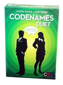 Czech Games Edition, Codenames Duet Edition, New and Sealed