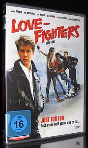 DVD LOVE FIGHTERS - TUFF TURF 80er Rarität mit JAMES SPADER + ROBERT DOWNEY JR.