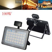 New listing 1Pc Led Flood light 100W Pir Motion Sensor Outdoor Security Lighting Warm White