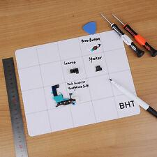 For Samsung iPhone 7 Magnetic Screw Mat Tools Mobile Phone Project Pad Repair
