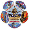 2015 Central Florida Council Military CSP Scout Patch Badge Set BSA Lot Jamboree