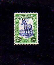 MOZAMBIQUE CO - 1937 - ZEBRA - AFRICA - MINT - MNH - SINGLE!