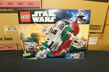 NEW Sealed Box! LEGO 8097 Star Wars Slave I Slave 1 FREE Priority Mail!
