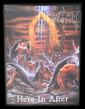Immolation-here in after (USA), Back Patch