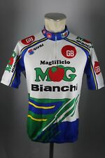 MOG Bianchi GB Sportful Radtrikot Gr. M-L 52cm Bike cycling jersey Shirt F5