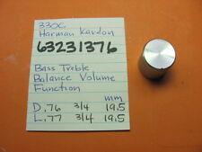 HARMAN KARDON 63231376 BASS BALANCE VOLUME FUNCTION KNOB 330C STEREO RECEIVER