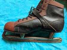 Vintage Basco Men'S Hard Toe Hockey Skates - Size 10 - Collector's Item