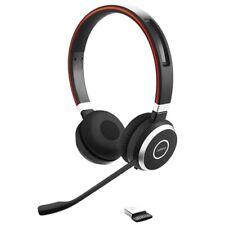 Jabra Evolve 65 UC DUO Bluetooth Headset, kabellos, Stereo, Bluetooth 4.0