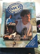 SIGNED MICHAEL PALIN-AROUND THE WORLD IN 80 DAYS-1ST Reprint -1989-HB-BBC