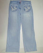 "BEAUTIFUL SASS&BIDE S&B VIE LIGHT BLUE RELAXED FIT JEANS 29 ""KNOCK ABOUT"""