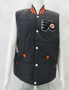 Vintage Mitchell & Ness NHL Philadelphia Flyers Sleeveless Vest Black Men's XL