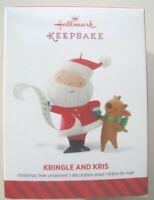 HALLMARK KEEPSAKE CHRISTMAS ORNAMENT - Kringle and Kris -  2104