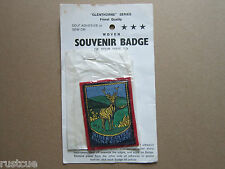Riber Castle Fauna Reserve Woven Cloth Patch Badge