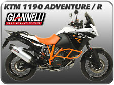 POT D'ÉCHAPPEMENT GIANNELLI ALUMINIUM CULOT CARBONE KTM 1190 ADVENTURE 13