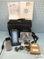 N2620A-5 AGILENT DELL FRAMESCOPE PRO HANDHELD GIG-E NETWORK PERFORMANCE ANALYZER