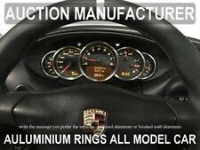 Porsche  911 996  1998-2005  Alloy Gauge Trim Rings Chrome Surrounds 5 pcs